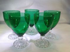 Hey, I found this really awesome Etsy listing at https://www.etsy.com/listing/232629196/mid-century-anchor-hocking-forest-green