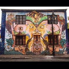 #MichaelJackson Street Art, Barrio de Bellavista, Santiago, Chile 2013 #MJAPWNN #DENoName