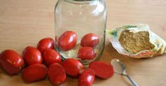 So tartósítsd the tomatoes that can be fresh New Year's Eve as well. Simple and… Home Canning, Preserves, Pickles, Grilling, Paleo, Food And Drink, Homemade, Snacks, Vegetables