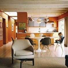 6 Mid-Century Houses With Cozy Wood-Panelled Living Rooms
