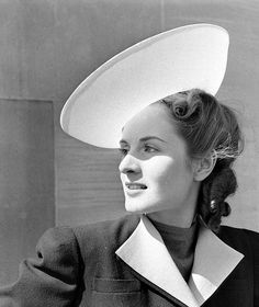 Embroidery Hats 1940    -LIFE photo archive