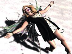 Falling Into Nothing by Deoridhe Grimsdottir Quandry Wrap Heels, One Design, Wonder Woman, Poses, Superhero, Purple, Fall, Figure Poses, Autumn