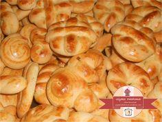 Easter cookies Easter Cookies, Sausage, Bread, Snacks, Food, Greece, Spring, Greece Country, Appetizers