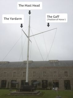 Cornish rigged flagpoles are all the rage! http://www.flagpoles.co.uk/blog/Harrison-EDS-Install-Rigged-Flagpole-in-Plymouth