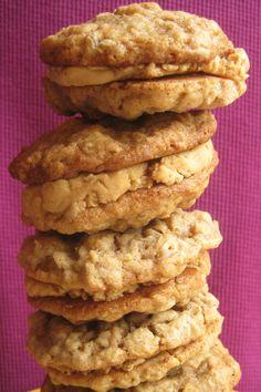 Pecan Linzer Cookies with Cherry Filling   Recipe   Linzer Cookies ...