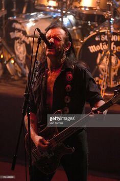 Lemmy of Motorhead during Motorhead 'A Night At The Opera' - Concert at Royal Opera House in London, Great Britain.