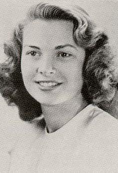 Grace Kelly high school graduation photo--1947