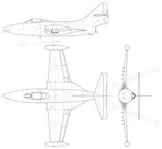 File:Grumman F9F-5 Panther.svg