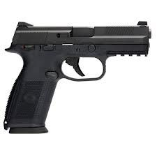 FNH -fns 9mm - my first handgun Loading that magazine is a pain! Get your Magazine speedloader today! http://www.amazon.com/shops/raeind