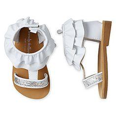 jcp | Wendy Bellissimo Toddler Girls Isabella Silver Glitter Sandals