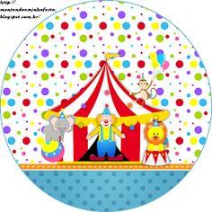 Montando minha festa: Circo meninos