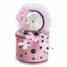Piggy Bank available Kendall @ Red Queen Miscellanea Bumble Bee Boutique & Gifts Pig Bank, Polka Dot Party, Cute Piggies, This Little Piggy, Red Queen, Everything Pink, Mud Pie, Decorative Accessories, Crafty