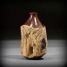 4 Lathe Projects, Wood Turning Projects, Wood Projects, Woodworking Projects, Wood Artwork, Wooden Vase, Decoration Originale, Wood Lathe, Tree Bark