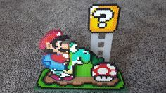 Super Mario World 3-D Perler Bead Diorama by The Art of Nerdhttps://www.etsy.com/your/shops/TheArtOfNerd/tools/listings/545057450