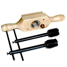 Wood Threading Tap and Die Kit There are loads of useful suggestions for your wood working projects found at http://www.woodesigner.net