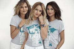 """***Michael Kors 'Watch Hunger Stop' project*** MK will donate one hundred meals to hungry children for each photograph posted to Facebook, Instagram or Twitter of someone wearing his Watch Hunger Stop T-shirt using the hashtag """"WatchHungerStop"""". T's available at MK stores - check your area."""