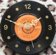 Space Oddity 7 Vinyl Wall Clock by Klicknc on Etsy