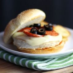 Looking for a simple way to spice up your turkey burgers? Try turning them into Pizza Turkey Burgers.