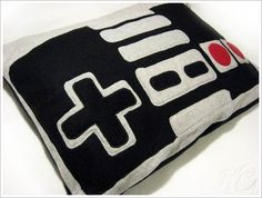 This is for all my Geek friends!!! NES controller pillow