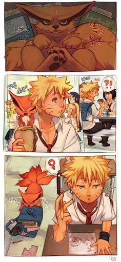Hahaha oh Naruto