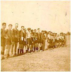 EQUIPOS DE FÚTBOL: BURJASOT contra REAL VALLADOLID 1943