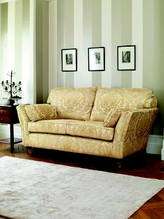 A Knole Style Sofa With Arms That Let Down On Each Side Allows For Reclining Lavenham Large In Avalon Fabric Multiyork