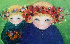 Artodyssey: Cezara Kolesnik Art Plastique, Painting, Paris, Montmartre Paris, Painting Art, Paintings, Paris France, Painted Canvas, Drawings