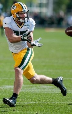 Green Bay Packers receiver Jordy Nelson during training camp practice at Ray Nitschke Field on Thursday, August 1, 2013.Lukas Keapproth/Press Gazette Media