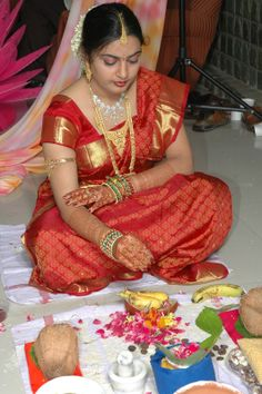 Bride With Gold Jeweleries