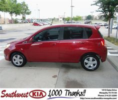 #HappyAnniversary to Castilla Darby on your 2010 #Chevrolet #Aveo from Jerry Tonubbee at Southwest Kia Mesquite!