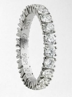 Cartier Big Engagement Rings Platinum 35
