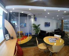 Customer Lounge at Sunshine Ford by Birchall & Partners Architects. Gold Coast, Australia. Architects Ipswich | Architects Brisbane | Architects Gold Coast Brisbane Architects, Coast Australia, Southport, Receptions, Gold Coast, Showroom, Sunshine, Garage, Ford