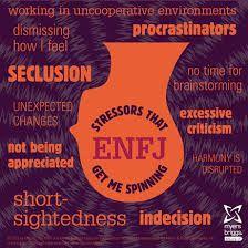 ENFJ under stress...