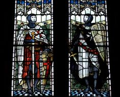 Stained Glass Windows, Temple Balsall, a hamlet within the Metropolitan Borough of Solihull in the West Midlands, England....    http://www.templar-quest.com/about.htm    ....     Temple Balsall is named after, and dates from the time of, the Knights Templar. They farmed about 650 acres here in the 12th century, and established Balsall Preceptory where templar brothers lived and ran the estate. After the Order was suppressed, the estate was given to the Knights Hospitaller of St John.