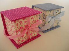 Pistache by Kei Okuma: Mais caixinhas para lembrancinha em cartonagem