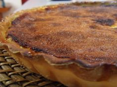 Tarte de Requeijão caseira Portuguese Recipes, Portuguese Food, Beignets, Sweet Tooth, Cheesecake, Food And Drink, Pork, Sweets, Meat