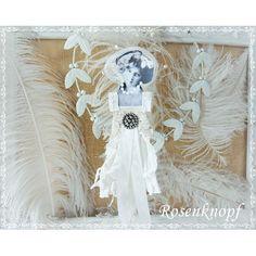 Diese junge Dame habe ich ganz in Weiß im Shabby Chic eingekleidet♥