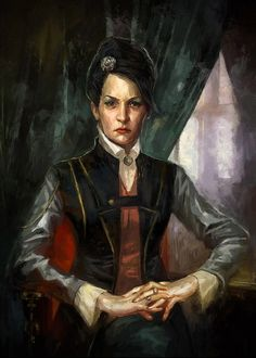 Dishonored - Sokolov Painting - Vera Moray and the Affix of Her Skin