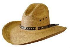 Dallas Antiqued Gus - 4 Inch Brim by Dallas, Cowboy Hat, Palm Leaf, Western Palm Leaf