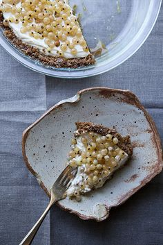 A tart of fromage frais and white currants adapted from Nigel Slater's Ripe Nigel Slater, Plates And Bowls, Food Photography, Stunning Photography, Sweet Recipes, The Best, Sweet Tooth, Sweet Treats, Food Porn