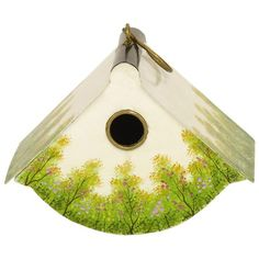 I pinned this Cozy Den Bird House from the Green Thumb event at Joss and Main!