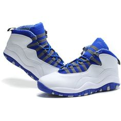 Air Jordan Shoes 10 Have Been Retroed Into Various Styles ❤ liked on Polyvore