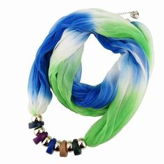 Scarf Necklace Pashmina