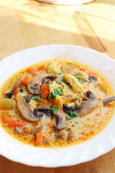 Jacque Pepin, Romanian Food, Thai Red Curry, Healthy Recipes, Cooking, Ethnic Recipes, Soups, Kitchen, Celery