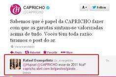 Sai do ar matéria da Capricho q separava meninas 'p/ namorar' e 'p/ ficar', protestos continuam http://www.bluebus.com.br/materia-da-capricho-q-separava-meninas-p-namorar-e-p-ficar-e-tirada-do-ar/