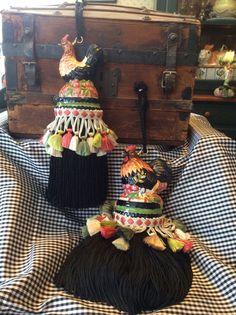 Decorative tassels from salt & pepper by DancingBearTassels