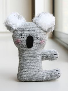 Kiki the Koala Amigurumi - Free Pattern - PDF File