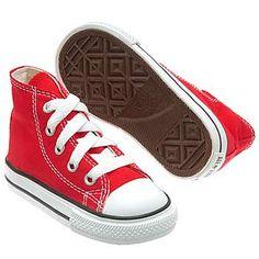 Athletics Converse Kid's All Star Core Hi Tod Red Shoes.com