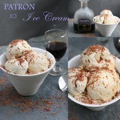 Getting the 'bee in my bonnet' about making this ice cream happened a couple of months ago at a party where everyone was throwing the Patron XO cafe's down their throats like ther…