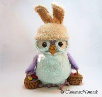 easter owl by tamara nowack